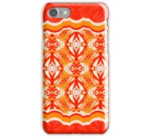 "Drawing - a pattern ""An orange mix"" iPhone Case/Skin"