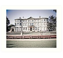 Sewerby Hall, East Yorkshire. Art Print