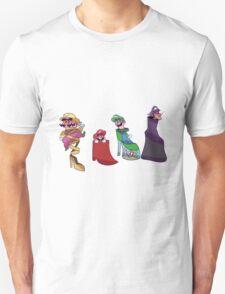 Mario Bros. Fancy Shoes T-Shirt