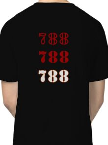 H.I.S.S. Numbers Classic T-Shirt