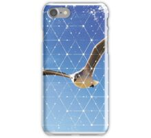 Nature and Geometry - The Seagull iPhone Case/Skin