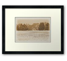 """Wide Country Christmas""... prints and products Framed Print"