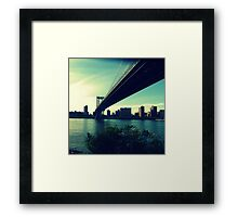 the long stretch Framed Print