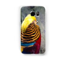 Golden Pheasant (Chrysolophus pictus) Samsung Galaxy Case/Skin