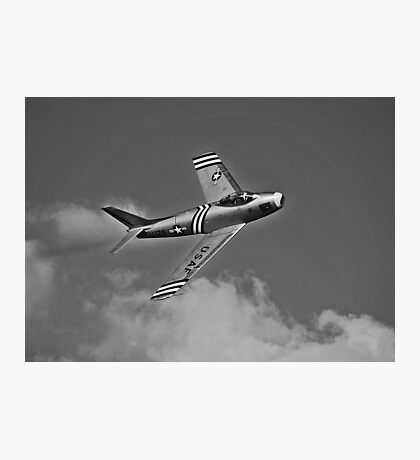 US Air Force Jet Photographic Print