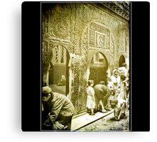 Moroccan Alley 1987 Canvas Print