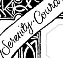 Serenity Prayer Sticker