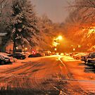 """A Snowy Evening in Knoxville (no.1, from this series)""... prints and products by © Bob Hall"