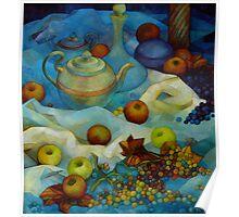 blu still life Poster
