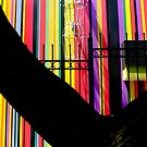 Colorful Stripes of the Sewing School by paintingsheep
