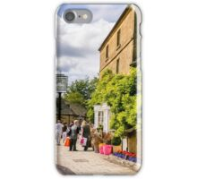 Shopping in beautiful Broadway iPhone Case/Skin