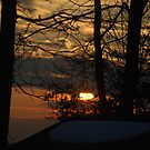 A Winter Sunset by Betty Maxey