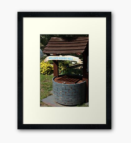 Wellgate Wishing Well Framed Print