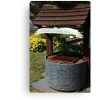 Wellgate Wishing Well Canvas Print