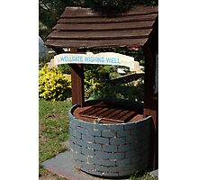 Wellgate Wishing Well Photographic Print