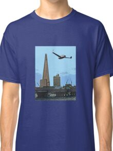 Flying past the Shard in 2020 Classic T-Shirt