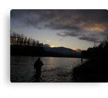 Skagit Sunset Canvas Print
