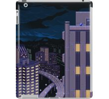Mega Man Title Screen iPad Case/Skin