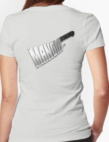 MangiaTV Logo Womens Fitted T-Shirt
