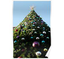 Giant Christmas Tree Poster