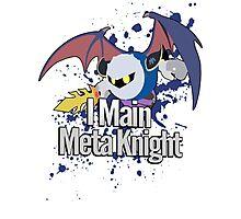 I Main Meta Knight - Super Smash Bros. Photographic Print