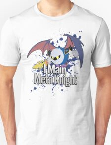 I Main Meta Knight - Super Smash Bros. Unisex T-Shirt