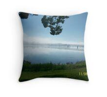 The Misty Grafton Bendy Bridge Throw Pillow