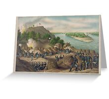 Civil War Siege of Vicksburg July 4, 1863  Greeting Card