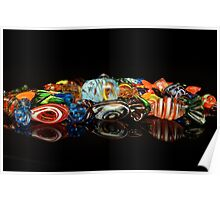 Glass candy Poster