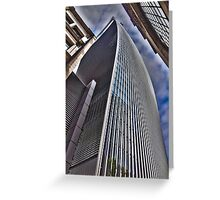 Our tall neighbour! Greeting Card