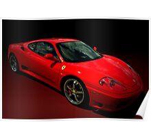 2004 Ferrari 360 Modena  Poster