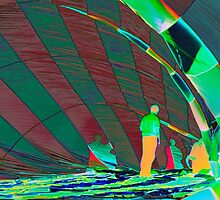 Heat Signature in a Hot Air Balloon by JonDelorme