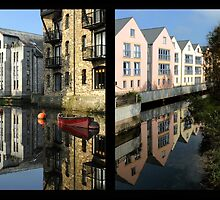 Totnes Past and Present by rodsfotos
