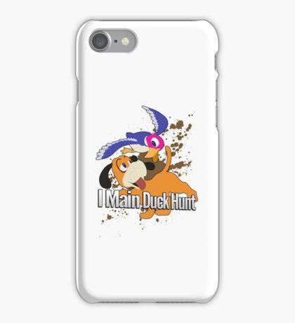 I Main Duck Hunt - Super Smash Bros. iPhone Case/Skin