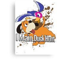 I Main Duck Hunt - Super Smash Bros. Canvas Print