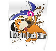 I Main Duck Hunt - Super Smash Bros. Poster