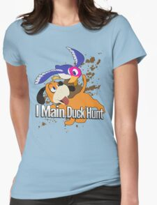 I Main Duck Hunt - Super Smash Bros. Womens Fitted T-Shirt