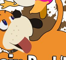 I Main Duck Hunt - Super Smash Bros. Sticker