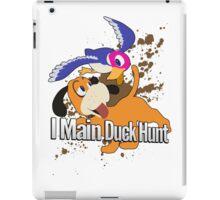 I Main Duck Hunt - Super Smash Bros. iPad Case/Skin