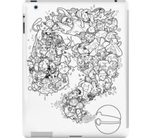 Doodlemon iPad Case/Skin