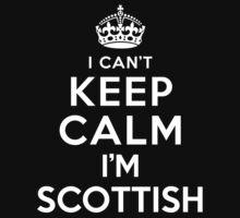 I Can't Keep Calm I'm Scottish Kids Clothes