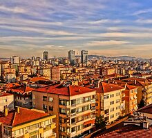 Istanbul Skyline by TimConstable