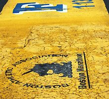 Boston Marathon Finish Line by Sarah Giaccai