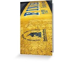 Boston Marathon Finish Line Greeting Card