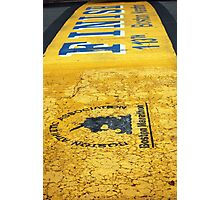 Boston Marathon Finish Line Photographic Print