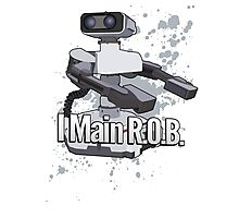 I Main R.O.B. - Super Smash Bros. Photographic Print