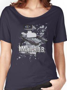 I Main R.O.B. - Super Smash Bros. Women's Relaxed Fit T-Shirt