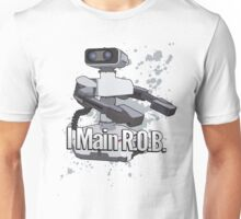 I Main R.O.B. - Super Smash Bros. Unisex T-Shirt