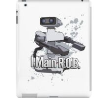 I Main R.O.B. - Super Smash Bros. iPad Case/Skin