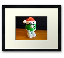 Mr M&M    (Before going into hiding). Framed Print